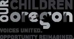 our-children-oregon-black-and-white-logo